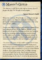 Masons Guild (S3)