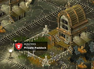 Hunters Private paddock