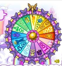 Wheel of excitement