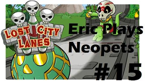 Let's Play Neopets 15 Lost City Lanes