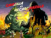 Chiazilla vs Mechachiazilla
