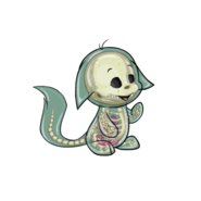Transparent kacheek