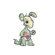 Transparent blumaroo