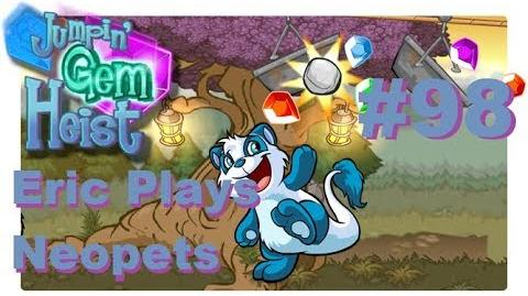 Let's Play Neopets 98 Jumpin' Gem Heist