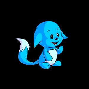 Blue kacheek