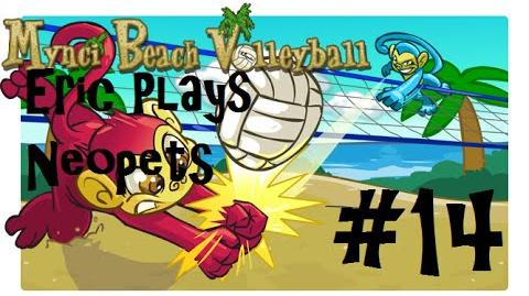Let's Play Neopets 14 Mynci Beach Volleyball