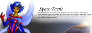 Space faerie name