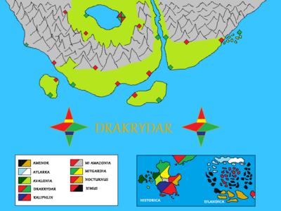 MapDrakrydar
