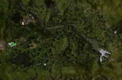 Terre Déchiquetée carte