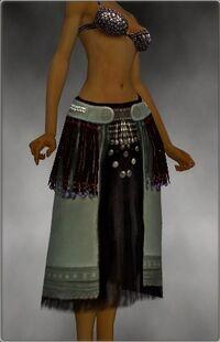 Armure de Seitung-Ritualiste-Jambes-Femme