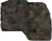 Carte de la région d'Ascalon