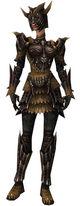 Armure de dragon d'élite-Guerrier-Femme