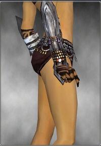 Armure d'obsidienne-Ritualiste-Bras-Femme