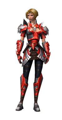 Armure de Deldrimor-Guerrier-Femme