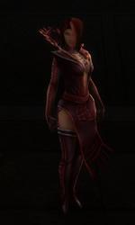 Livia-armure de la Confrérie