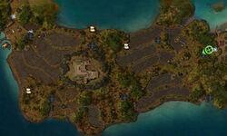Iles d'Issnur carte