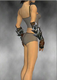 Armure de Luxon-Guerrier-Bras-Femme