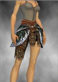 Armure de Luxon-Guerrier-Jambes-Femme