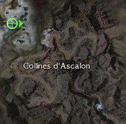 Collines d'Ascalon carte