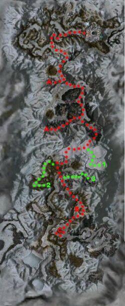 La Porte de Givre (mission) carte