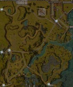 Comté du Lac carte