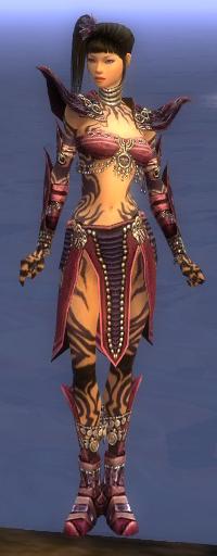 Armure d'obsidienne-Ritualiste-Femme