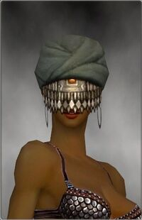 Armure de Seitung-Ritualiste-Tête-Femme