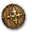 Targe de bois-icône