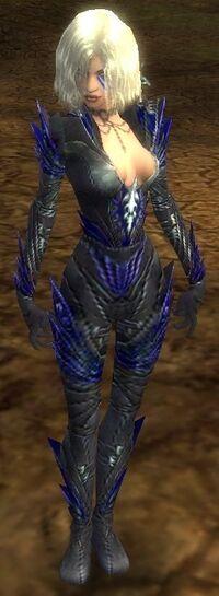 Armure de Kryte-Nécromant-Femme