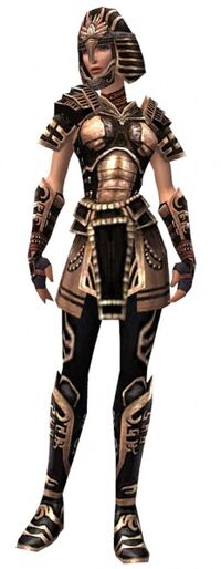 Armure antique-Guerrier-Femme
