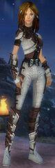 Armure d'obsidienne-Rôdeur-Femme