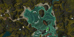 Fonds Marins de Boreas (zone d'exploration) carte