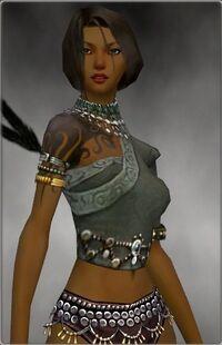 Armure canthienne-Ritualiste-Torse-Femme