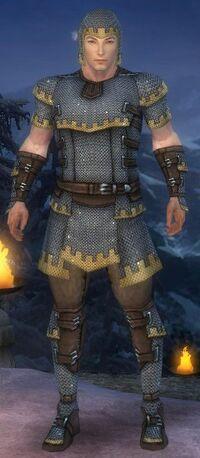 Armure de Tyrie-Guerrier-Homme