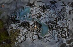 Lande de Varajar carte