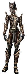 Armure de Kurzick d'élite-Guerrier-Femme