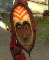 Bouclier tribal (masque)
