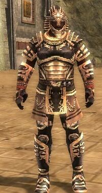 Armure antique-Guerrier-Homme