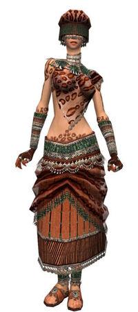 Armure exotique d'élite-Ritualiste-Femme