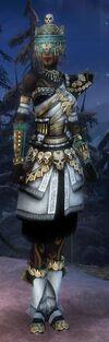 Armure de l'empire d'élite-Ritualiste-Femme