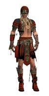 Armure d'Asura-Ritualiste-Homme