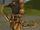 Arc recourbé de ronces