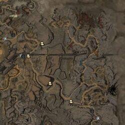 Frontière orientale carte