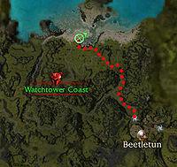 Inquisitor Lovisa Location