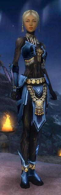 Armure de Kurzick d'élite-Ritualiste-Femme