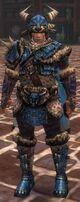 Armure en fourrure de Charr-Guerrier-Homme