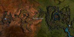 Refuge royal carte