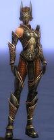 Armure de Kurzick-Guerrier-Femme