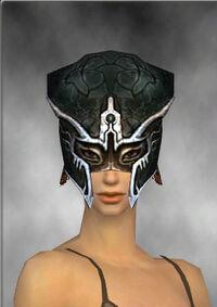 Armure de Luxon-Guerrier-Tête-Femme