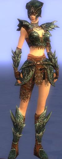 Armure de Luxon-Guerrier-Femme